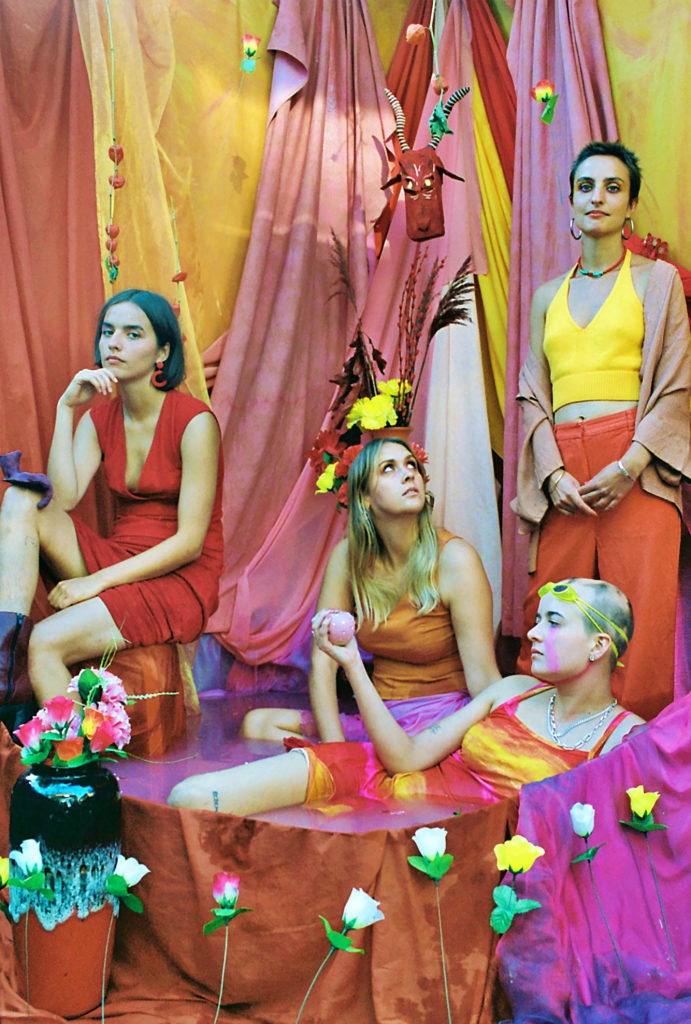 Goat Girl, On All Fours, review, untoldency, post punk, untold, music, bedroom pop, new music, indie, pop, south london, the windmill, album, sad cowboy, the crack, anxiety feels