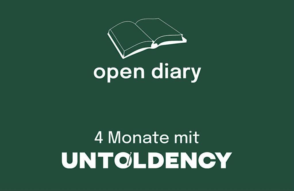 untoldency, magazin, magazine, musikmagazin, open diary, vier monate, four month, online, blog, indie, pop, rock