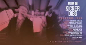 Kicker Dibs, Vagabund, Tour, 2022, Debütalbum, Konzert, Tournee, Deutschland, Österreich, Live, Musik, Blog, Rock, Indie, untold, untoldency, untoldency magazin