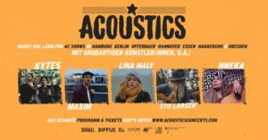Acoustics Concerts, Untoldency Magazine, Indie, Musik, Blog, Blogger, Online Indie Musik Magazin, musikjournalismus, acoustics sessions, Acoustics Konzerte, Lina Maly, Kytes