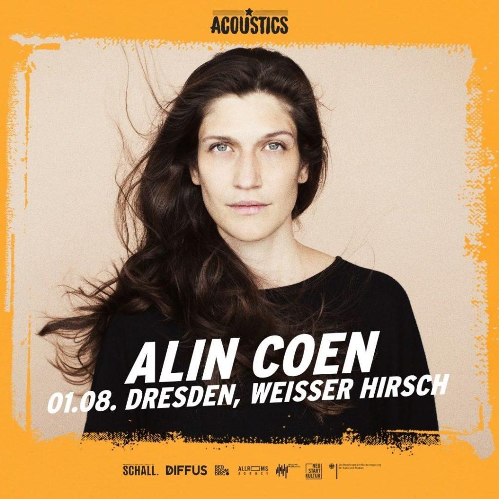 Alin Coen, Untoldency, Untoldency Magazine, Indie, Musik, Blog, Blogger, Online Indie Musik Magazin, Acoustics Concerts, weisser hirsch dresden, alincoen