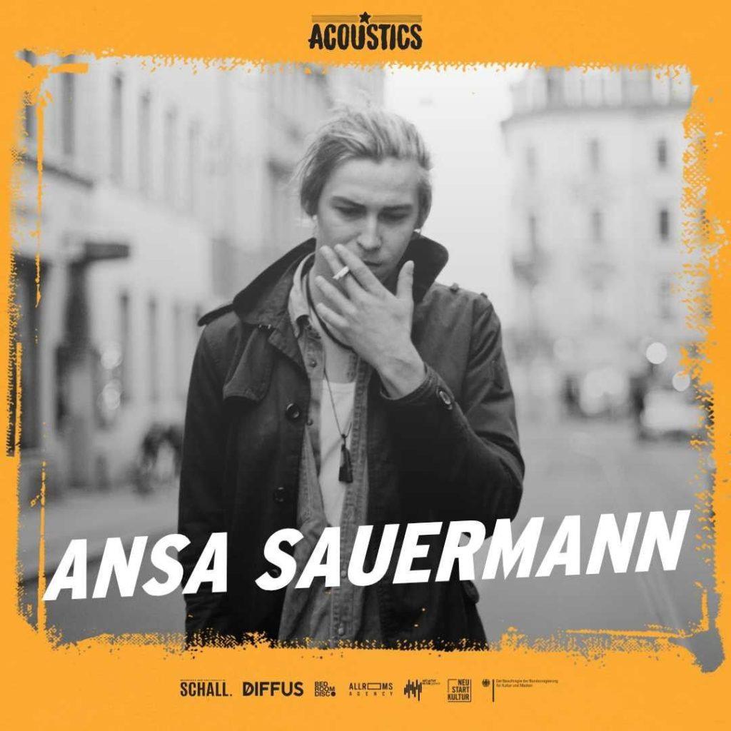 Ansa Sauermann, Untoldency, Untoldency Magazine, Indie, Musik, Blog, Blogger, Online Indie Musik Magazin, Acoustics Concerts, ansasauermann