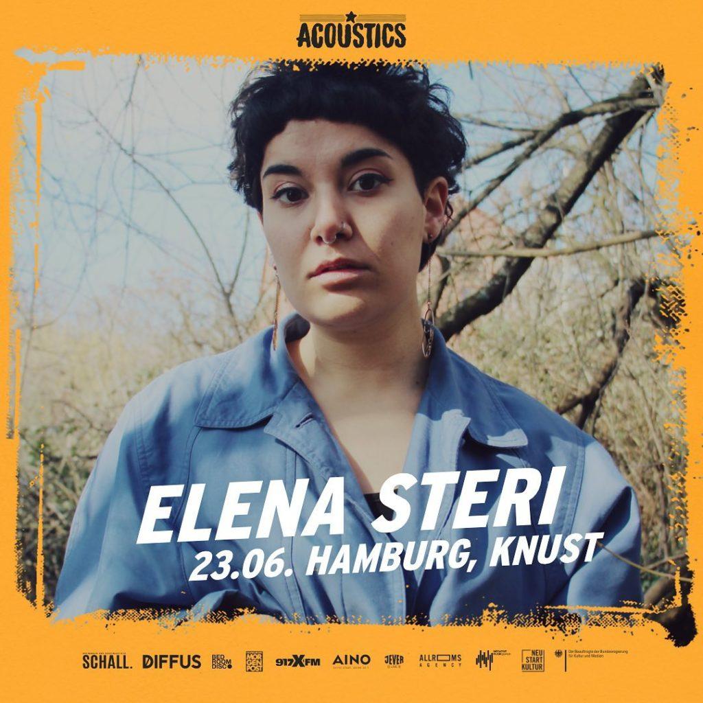 Elena Steri, Untoldency, Untoldency Magazine, Indie, Musik, Blog, Blogger, Online Indie Musik Magazin, Acoustics Concerts, hamburg knust, elenasteri