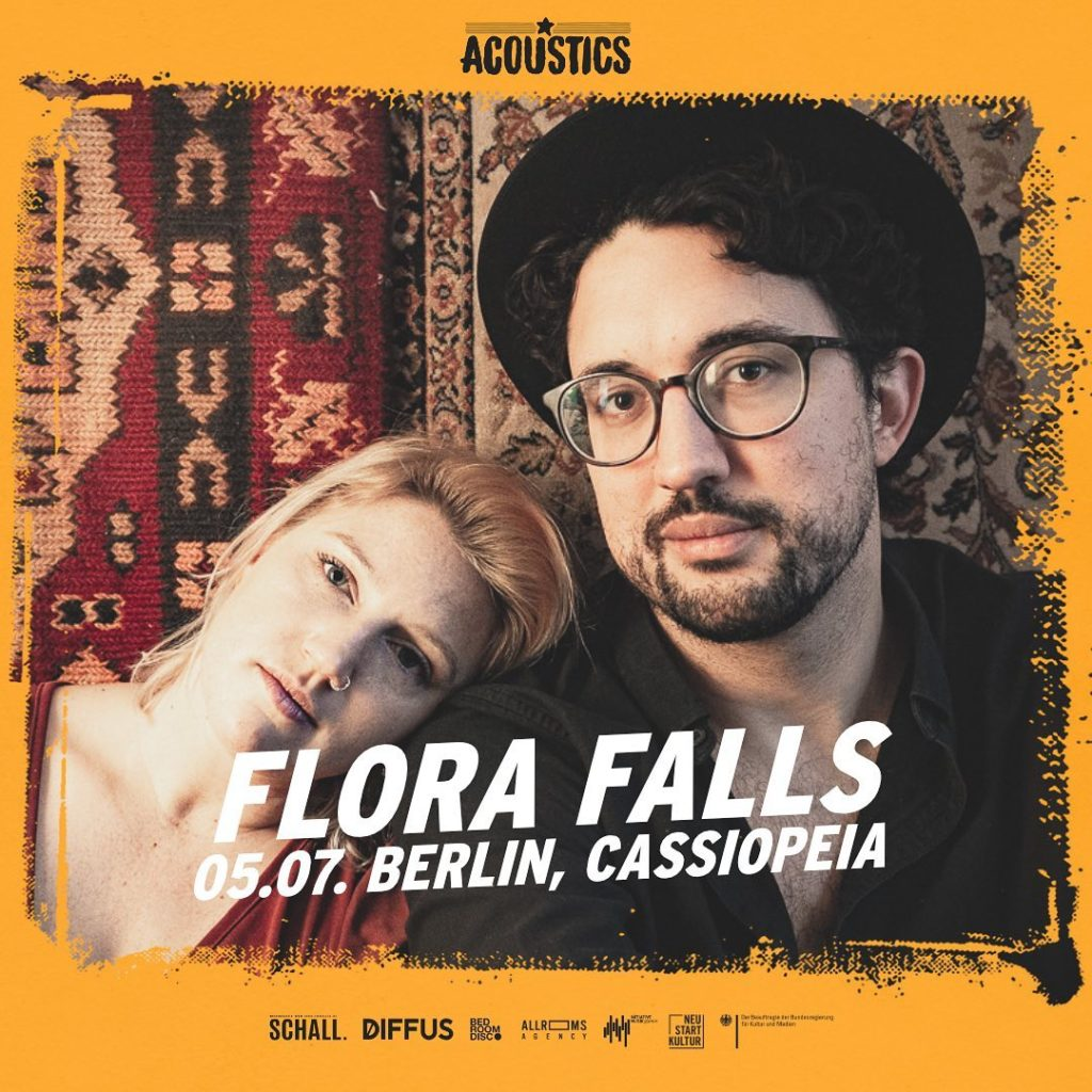 Flora Falls, Untoldency, Untoldency Magazine, Indie, Musik, Blog, Blogger, Online Indie Musik Magazin, Acoustics Concerts, berlin cassiopeia, florafalls