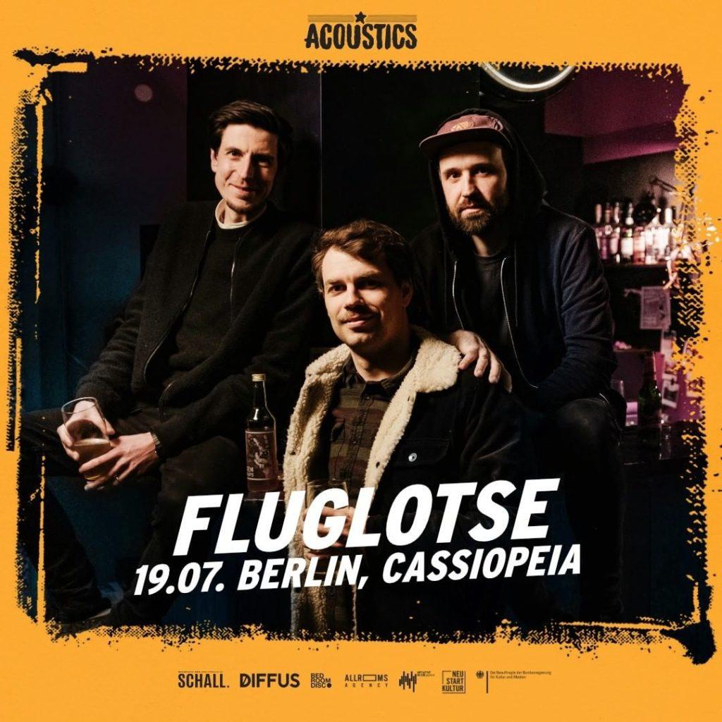 Fluglotse, Untoldency, Untoldency Magazine, Indie, Musik, Blog, Blogger, Online Indie Musik Magazin, Acoustics Concerts, berlin cassiopeia, fluglotse musik
