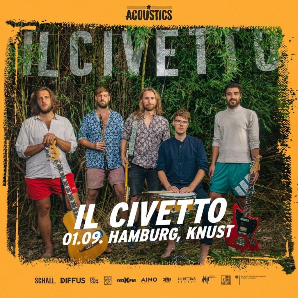 Il Civetto, Untoldency, Untoldency Magazine, Indie, Musik, Blog, Blogger, Online Indie Musik Magazin, Acoustics Concerts, hamburg ilcivetto musik