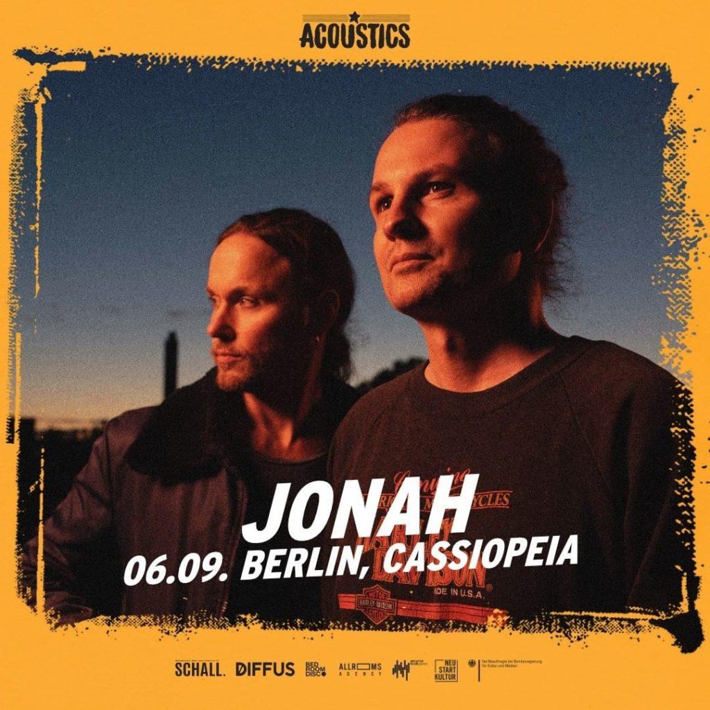 Jonah, Untoldency, Untoldency Magazine, Indie, Musik, Blog, Blogger, Online Indie Musik Magazin, Acoustics Concerts, berlin cassiopeia, jonahmusic