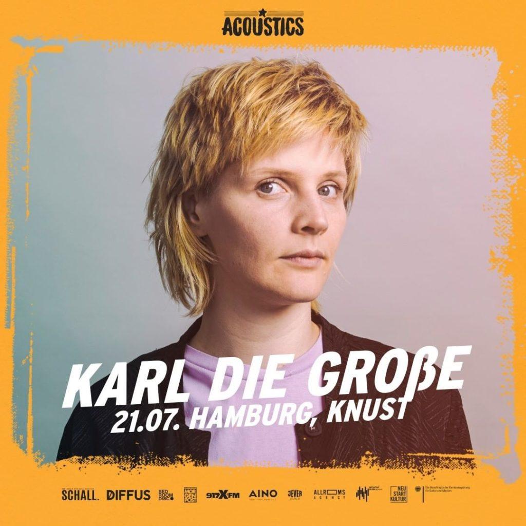 Karl Die Große, Untoldency, Untoldency Magazine, Indie, Musik, Blog, Blogger, Online Indie Musik Magazin, Acoustics Concerts, hamburg knust, karl die grosse