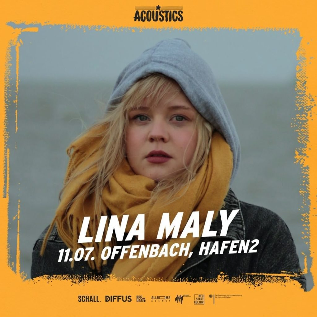Lina Maly, Untoldency, Untoldency Magazine, Indie, Musik, Blog, Blogger, Online Indie Musik Magazin, Acoustics Concerts, offenbach hafen2, lina maly
