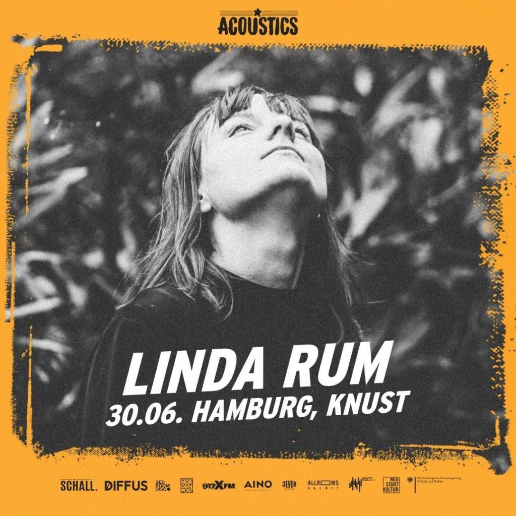 Linda Rum, Untoldency, Untoldency Magazine, Indie, Musik, Blog, Blogger, Online Indie Musik Magazin, Acoustics Concerts, hamburg knust, linda rum musik