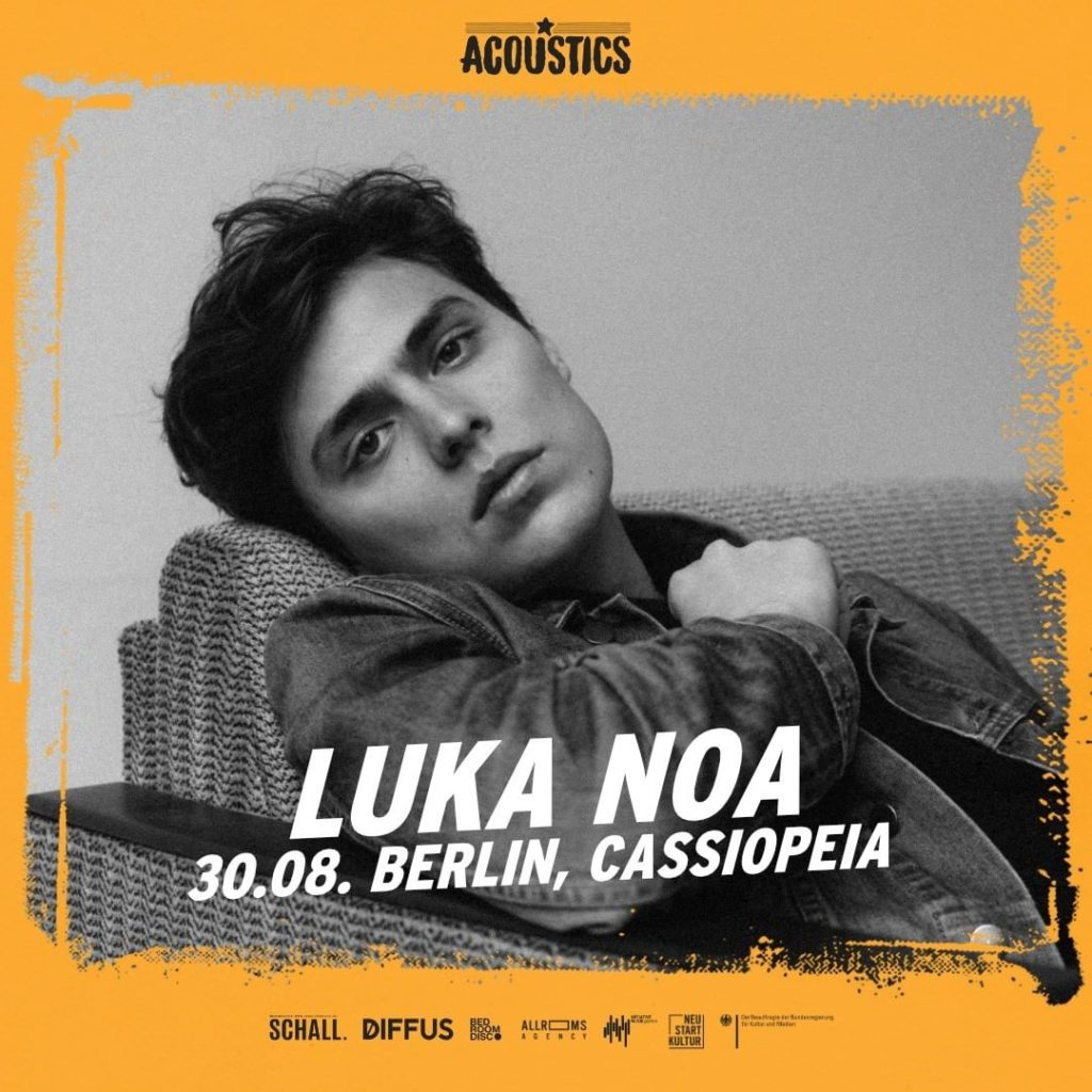 Luke Noa, Untoldency, Untoldency Magazine, Indie, Musik, Blog, Blogger, Online Indie Musik Magazin, Acoustics Concerts, berlin cassiopeia, luke noa