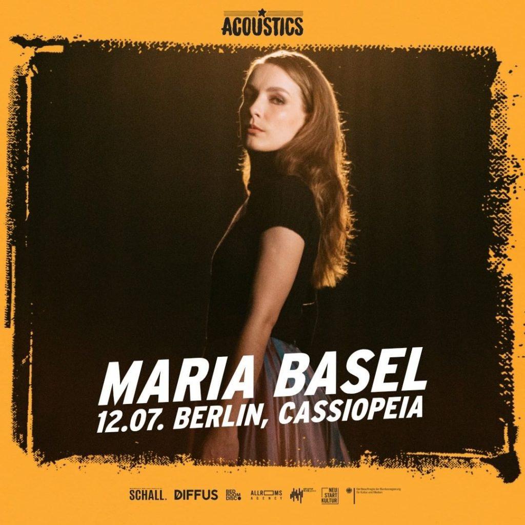 Maria Basel, Untoldency, Untoldency Magazine, Indie, Musik, Blog, Blogger, Online Indie Musik Magazin, Acoustics Concerts, berlin cassiopeia, maria basel musik