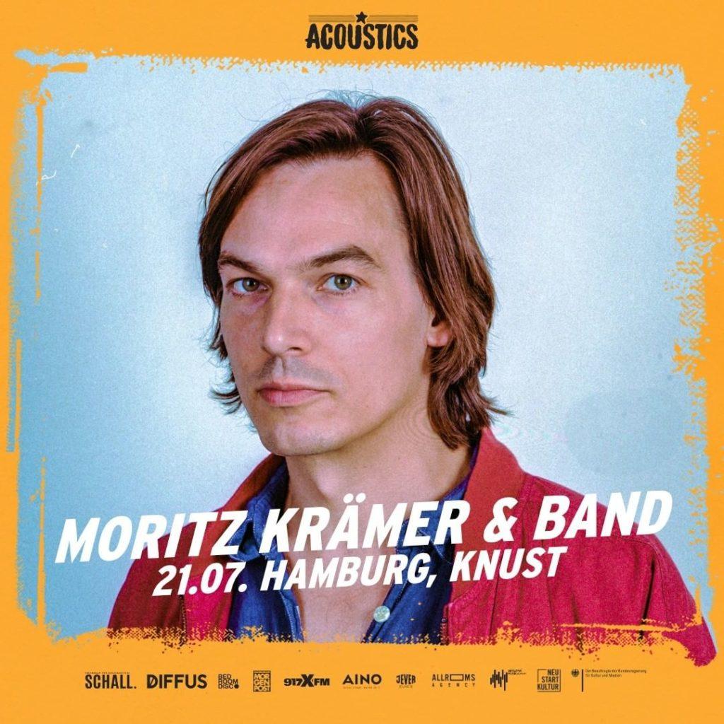 Moritz Krämer, Untoldency, Untoldency Magazine, Indie, Musik, Blog, Blogger, Online Indie Musik Magazin, Acoustics Concerts, hamburg knust, moritz kraemer und band