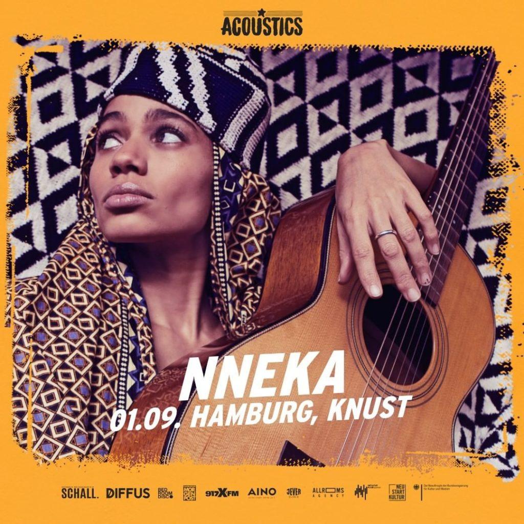 Nneka, Untoldency, Untoldency Magazine, Indie, Musik, Blog, Blogger, Online Indie Musik Magazin, Acoustics Concerts, hamburg knust, nneka musik