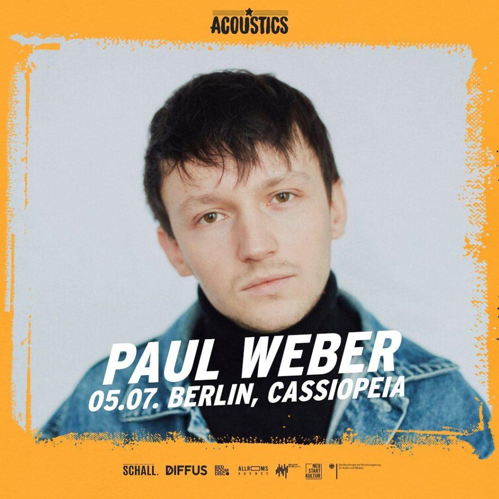 Paul Weber, Untoldency, Untoldency Magazine, Indie, Musik, Blog, Blogger, Online Indie Musik Magazin, Acoustics Concerts, paul weber musik