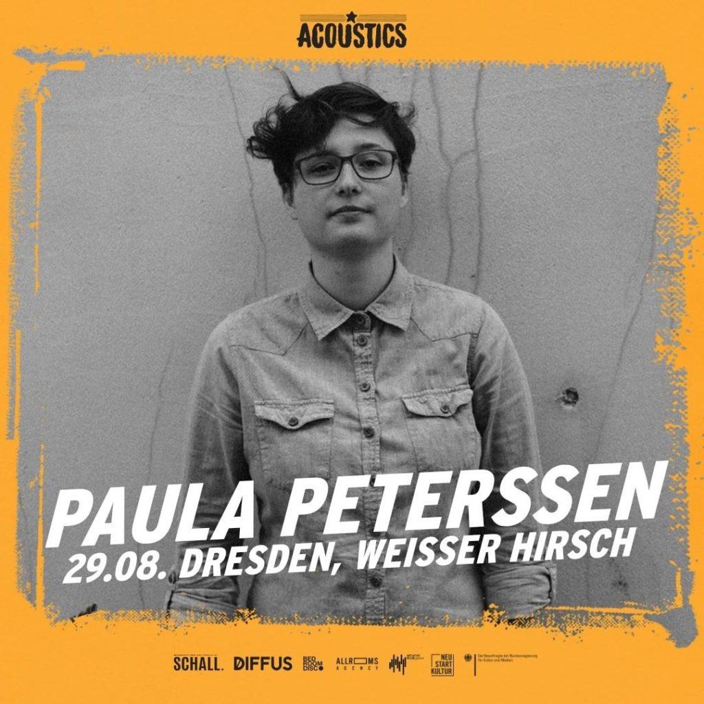 Paula Peterssen, Untoldency, Untoldency Magazine, Indie, Musik, Blog, Blogger, Online Indie Musik Magazin, Acoustics Concerts, weisser hirsch dresden, paulapeterssen