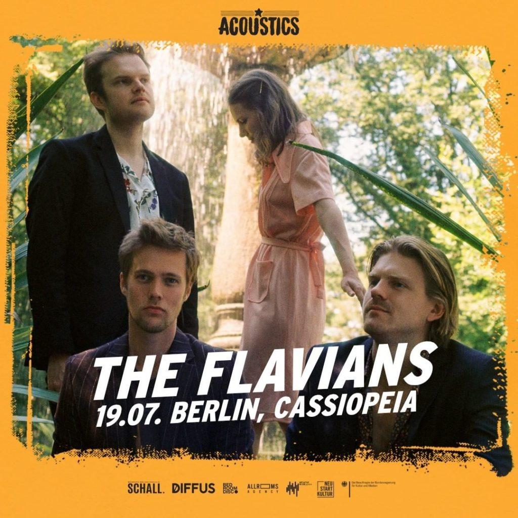 The Flavians, Untoldency, Untoldency Magazine, Indie, Musik, Blog, Blogger, Online Indie Musik Magazin, Acoustics Concerts, berlin cassiopeia, theflavians