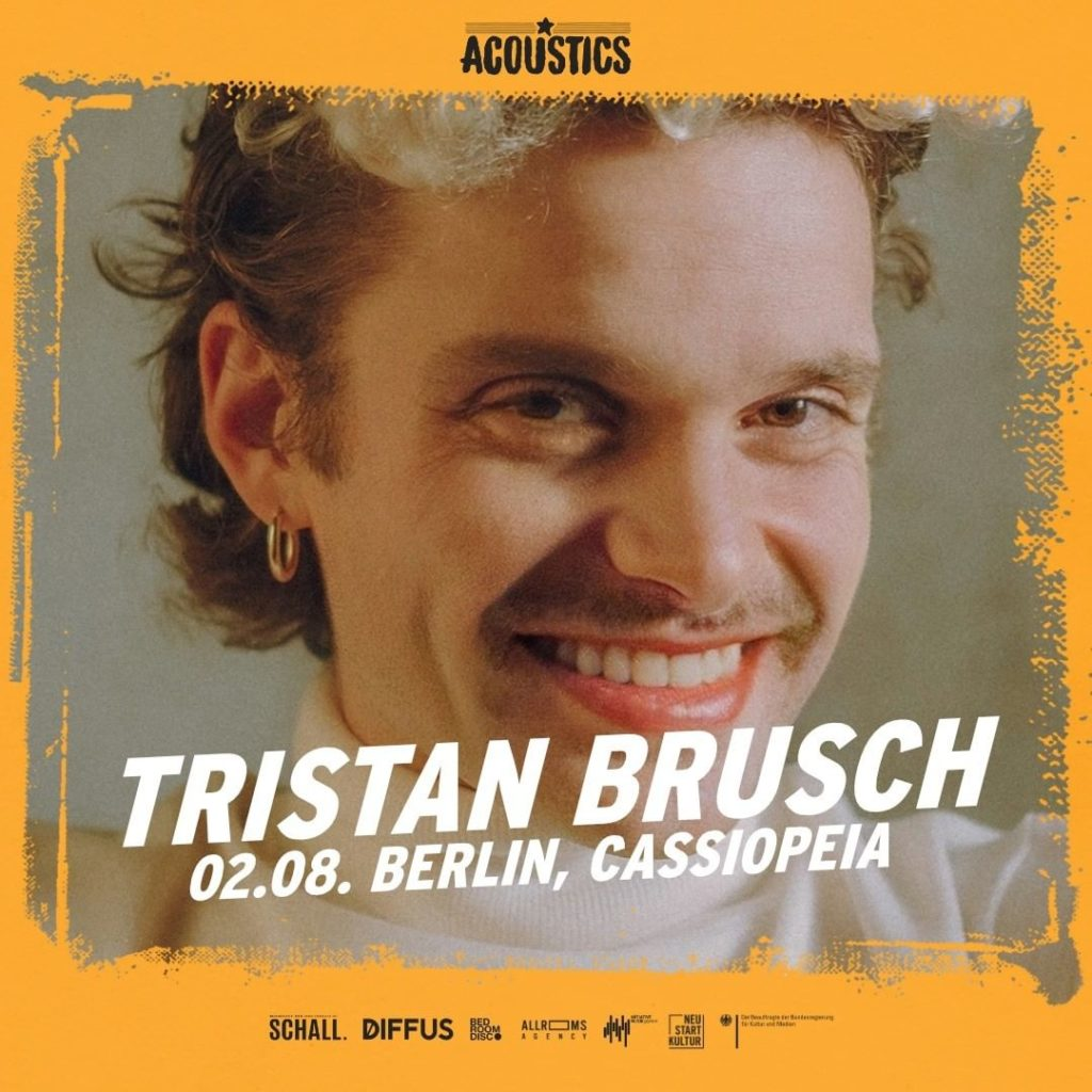 Tristan Brusch, Untoldency, Untoldency Magazine, Indie, Musik, Blog, Blogger, Online Indie Musik Magazin, Acoustics Concerts, berlin cassiopeia, tristanbrusch